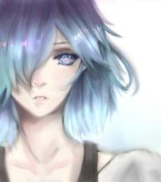 Tokyo Ghoul :re Touka by raining43626