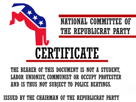 Certificate for the Occupiers by Party9999999