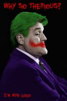 Jay Leno Joker by jsos