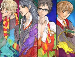 HP: Marauders Four by Atomic-Clover