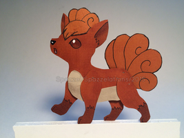 For Naka-Kon- Vulpix by Spazzel