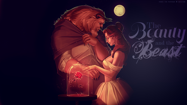The Beauty and The Beast Wallpaper by odds-in-favour