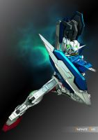 Exia 3D Cel-Shade by InfiniteAxis