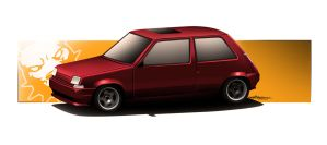 renault 5 toon by RibaDesign