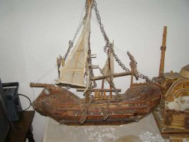 The Sails of Ancient Times by Peatrit
