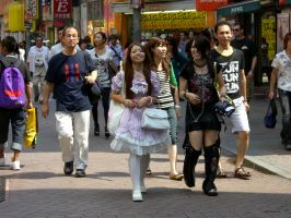 Japanese people by Fantasmiki