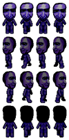 Ao Oni Sprite by Americanaooni