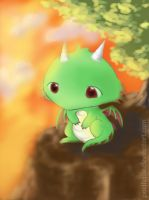 Gwee the Dragon by pacifique