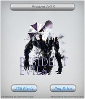 Resident Evil 6 - Icon 2 by Crussong