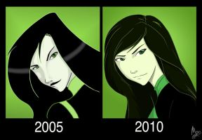 Five Years: Shego by fortheloveofpizza