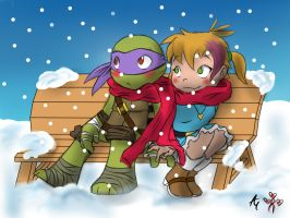TMNT Secret Santa - Sweet Date by AR-ameth