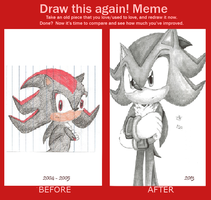 Before and After Meme: Shadow by JoyfulJ