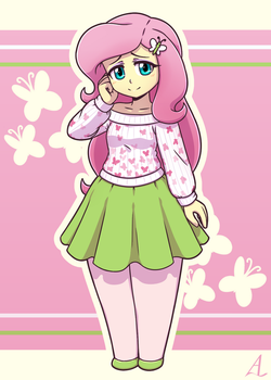 Fluttershy: Kind and Comfy! by AcesRulez13