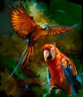 20151113 Parrot Psdelux by psdeluxe