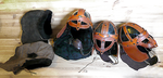 Nordic Leather Helmets by Astanael