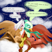 Gilda x Greta: Leave this town by BillyGGruff