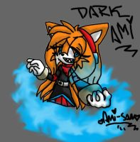 Dark Ami Prower by tailsfan1996