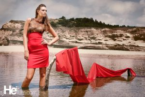 Black on Red Shoot 2 by Elijah-Snow