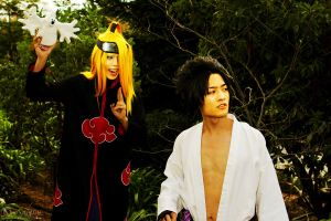 Sasuke VS Deidara: Forest Showdown Part 2 by POOTERSS