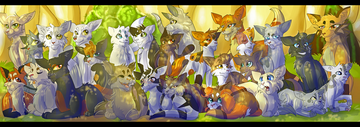 Omen of the Stars (Warrior Cats) by WarriorCat3042