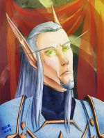 Portrait: Lord Illapa Greybane by teutelquessir