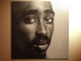 Honor for Tupac by kevgraph