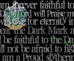 PROUD SLYTHERIN by Moonfox1781
