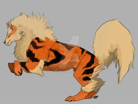 Arcanine by NapalmPrincess