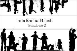 shadows Brush 2 by anaRasha-stock