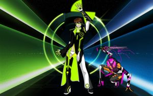 Ben 10 Tron by RandomDraggon