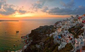 Oia sunset by AlexGutkin