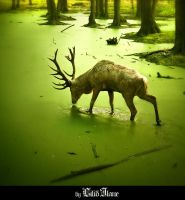 forest god by LilifIlane