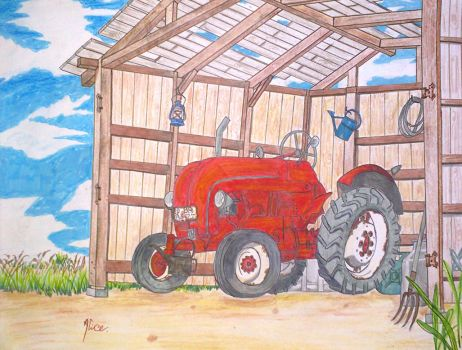 tractor by AliceVII