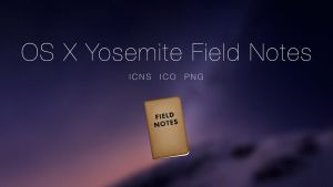 OS X Yosemite Field Notes App by JasonZigrino