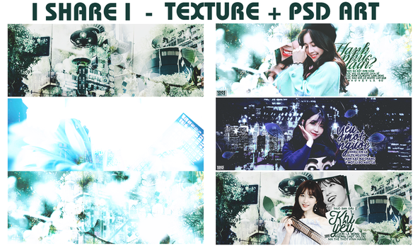 [SHARE] TEXTURES + PSD ART by xhangelf