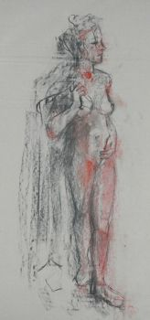Life Drawing in Colour 01 Spring 2012 by szekei