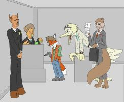 Night Court - BTTF Furry by picklejuice13