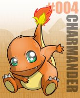 Pokemon: 004 Charmander by Xxid