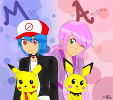 .Pokemon. {Tamers} by nikisawesome