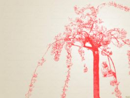 Pink Tree by frotton