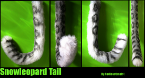 Snow Leopard Tail Commission by Radioactimals