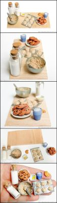 Chocolate Chip Cookie Prep Board by Bon-AppetEats