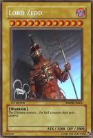 Lord Zedd YuGiOh card by TheBlastoise