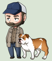 SPN Dogs #06 by NessaSan