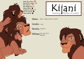 Kijani - new OC by Pencil-and-paper-247