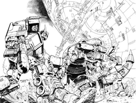 Transformers Inks by MannixFrancisco