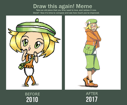 Draw This Again - Bianca by Kirthey