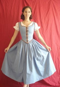 OUAT Belle Cosplay 2 by Lady-Lovelace