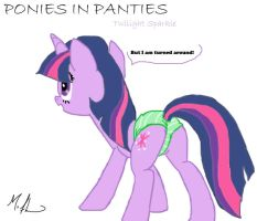 Ponies in Panties Twilight by RuttoSSJ