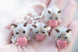Poro Charms, League of Legends by IvrinielsArtNCosplay